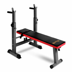 Everfit Multi-Station Weight Bench Press Weights Equipment Fitness Home Gym – Red