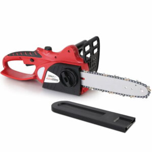 Giantz 20V Cordless Chainsaw – Black and Red