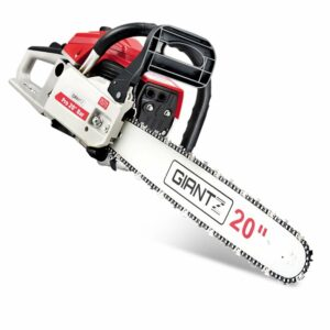 Giantz 58CC Commercial Petrol Chainsaw – Red & White