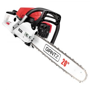 Giantz 62CC Commercial Petrol Chainsaw – Red & White