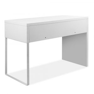 Artiss Metal Desk with 2 Drawers – White