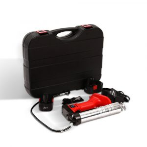 Giantz 20V Rechargeable Cordless Grease Gun – Red