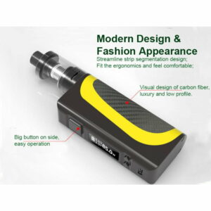 Boarse Pisces 85W MOD e-cig with Pisces A5 Tank