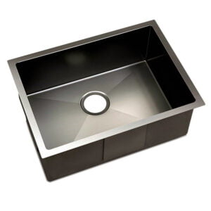 Cefito 600 x 450mm Stainless Steel Sink – Black