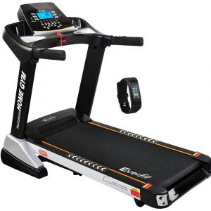 Everfit Electric Treadmill 48cm Incline Running Home Gym Fitness Machine – Black