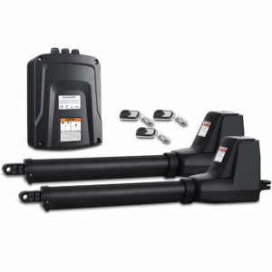 LockMaster Swing Gate Opener Double Automatic Electric Kit Remote Control 1000KG