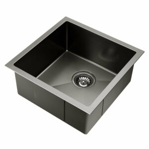 Cefito 440 x 440mm Stainless Steel Sink – Black