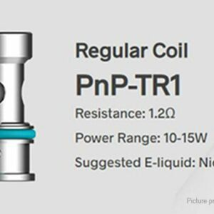 Voopoo – PnP Replacement Coils (5 Pack) – TR1 1.2 ohm Regular Coil for V Suit