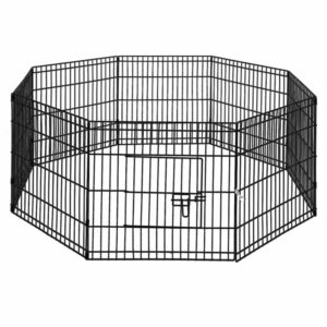i.Pet 2X24″ 8 Panel Pet Dog Playpen Puppy Exercise Cage Enclosure Fence Play Pen