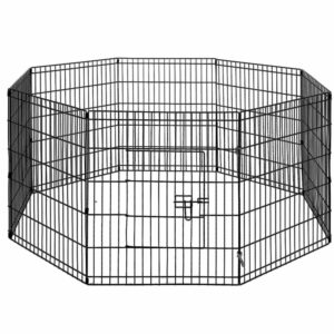 i.Pet 2X30″ 8 Panel Pet Dog Playpen Puppy Exercise Cage Enclosure Fence Play Pen