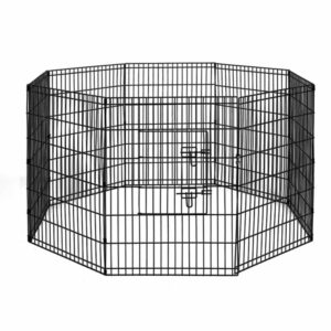 i.Pet 2X36″ 8 Panel Pet Dog Playpen Puppy Exercise Cage Enclosure Fence Play Pen