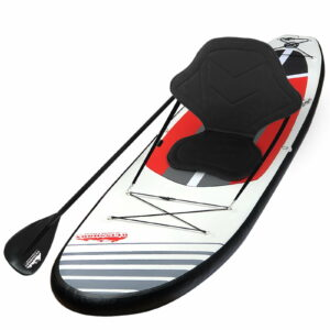 Weisshorn Stand Up Paddle Boards 11′ Inflatable SUP Surfboard Paddleboard Kayak Red