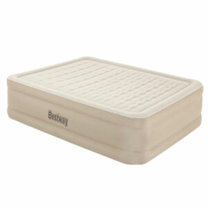 Bestway Air Bed Queen Size Mattress Camping Beds Inflatable Built-in Pump